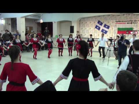 Родопско хоро, клуб Тракия, Фолклорен фестивал в Монреал, 22 април 2017