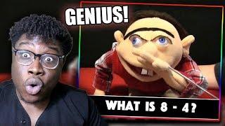 JEFFY IS A GENIUS! | SML Movie: Smart Jeffy Reaction!