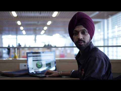Algonquin College Indian student Harmanjyot gives you quick tour of AC