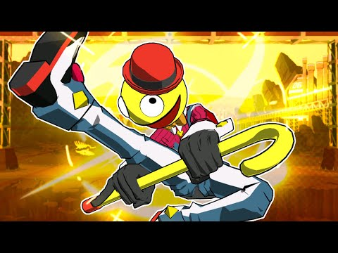 The BEST indie fighting game | Lethal league blaze |