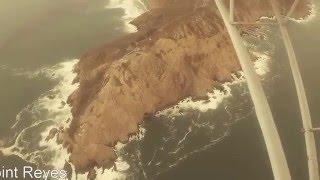 Scenic Flight north of San Francisco