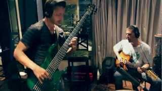 "FRANCISCO FATTORUSO en estudio - ""Green eyes shut"" invitado LEONARDO AMUEDO"
