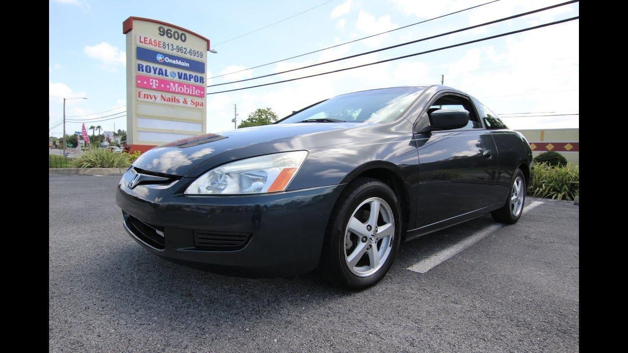 SOLD 2005 Honda Accord EX L Coupe Meticulous Motors Inc Florida For Sale