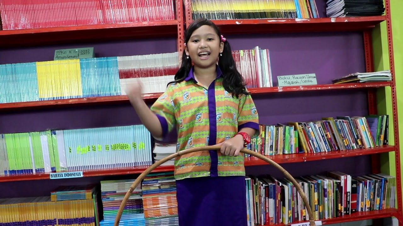 Hula Hoop Permainan Tradisional Indonesia Cheryl Youtube