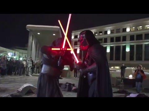 Star Wars Episode VII Flash Mob