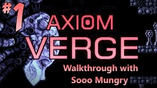 axiom verge walkthrough part 1 first boss fight ps4 ps vita pc gameplay 1080p hd