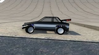 RC Car Demolition - BeamNG Drive