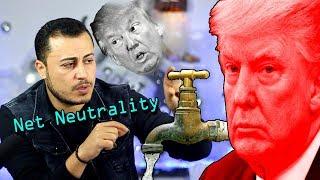 الغاء حيادية الانترنت في الولايات المتحدة الامريكية - قرار الرئيس الأمريكي وتعليق ماتريكس219