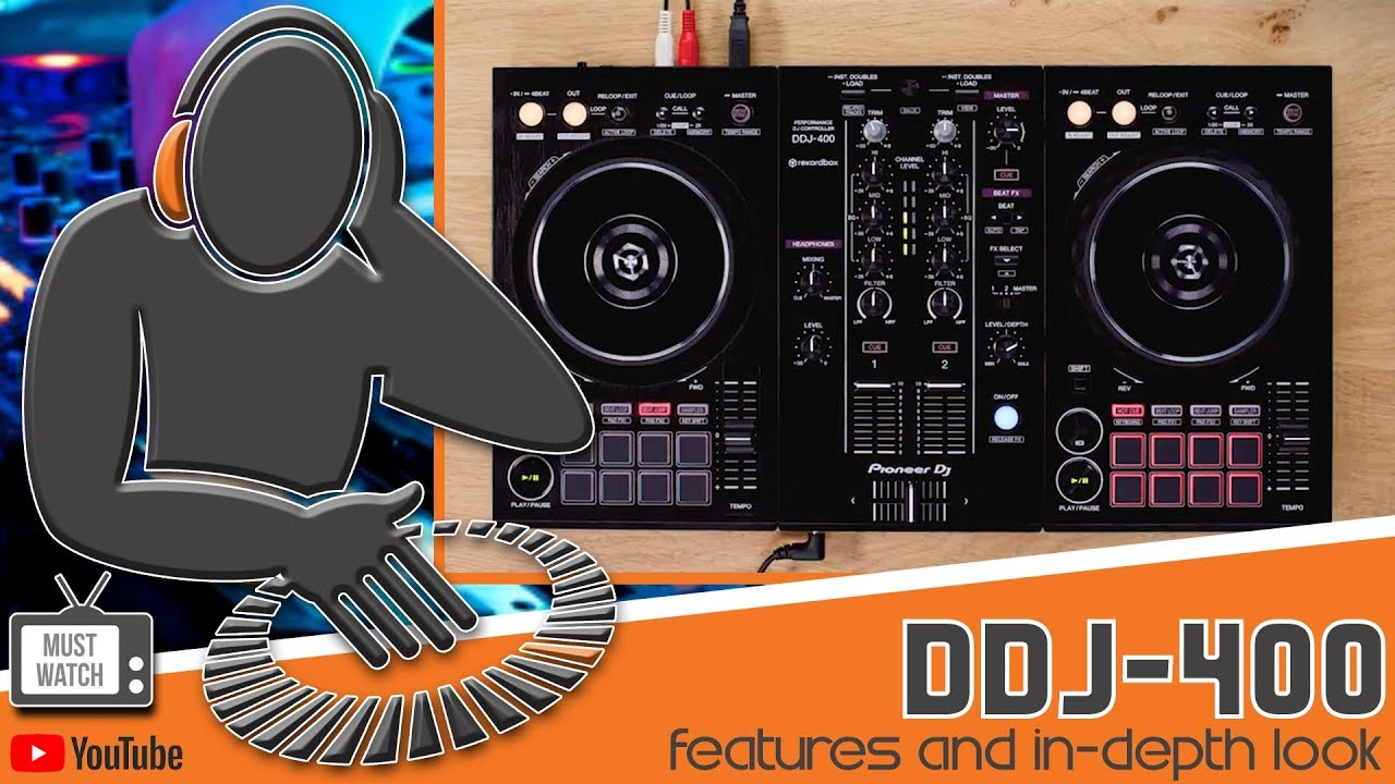 PIONEER DDJ-400 - EXCLUSIVE LOOK AT KEY FEATURES - YouTube 01690b729e