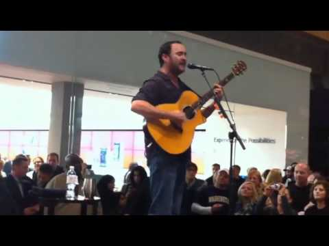 Dave Matthews - 11/18/10 - Full Solo Show - Bellevue Mall - Seattle, WA