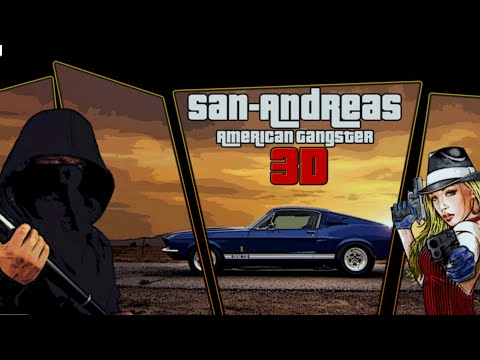 San Andreas American Gangster 3D / By Pixel Games Studio 🔥android Gameplay HD