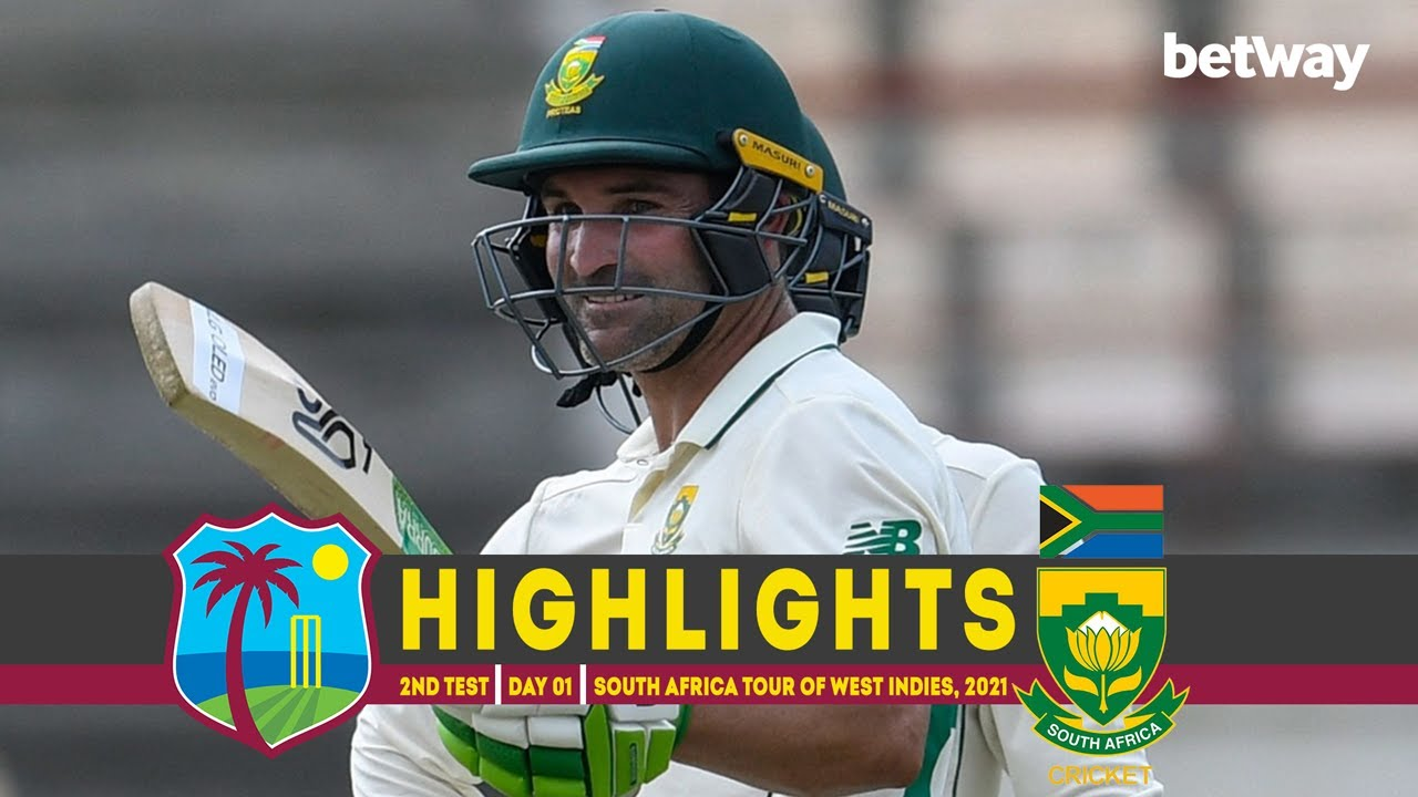 West Indies vs South Africa | 2nd Test | Day 01 | South Africa tour of West Indies, 2021