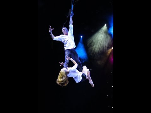 Duo Straps Aerial Act Circus Variety performance Acrobatics Entertainment Party Event Show