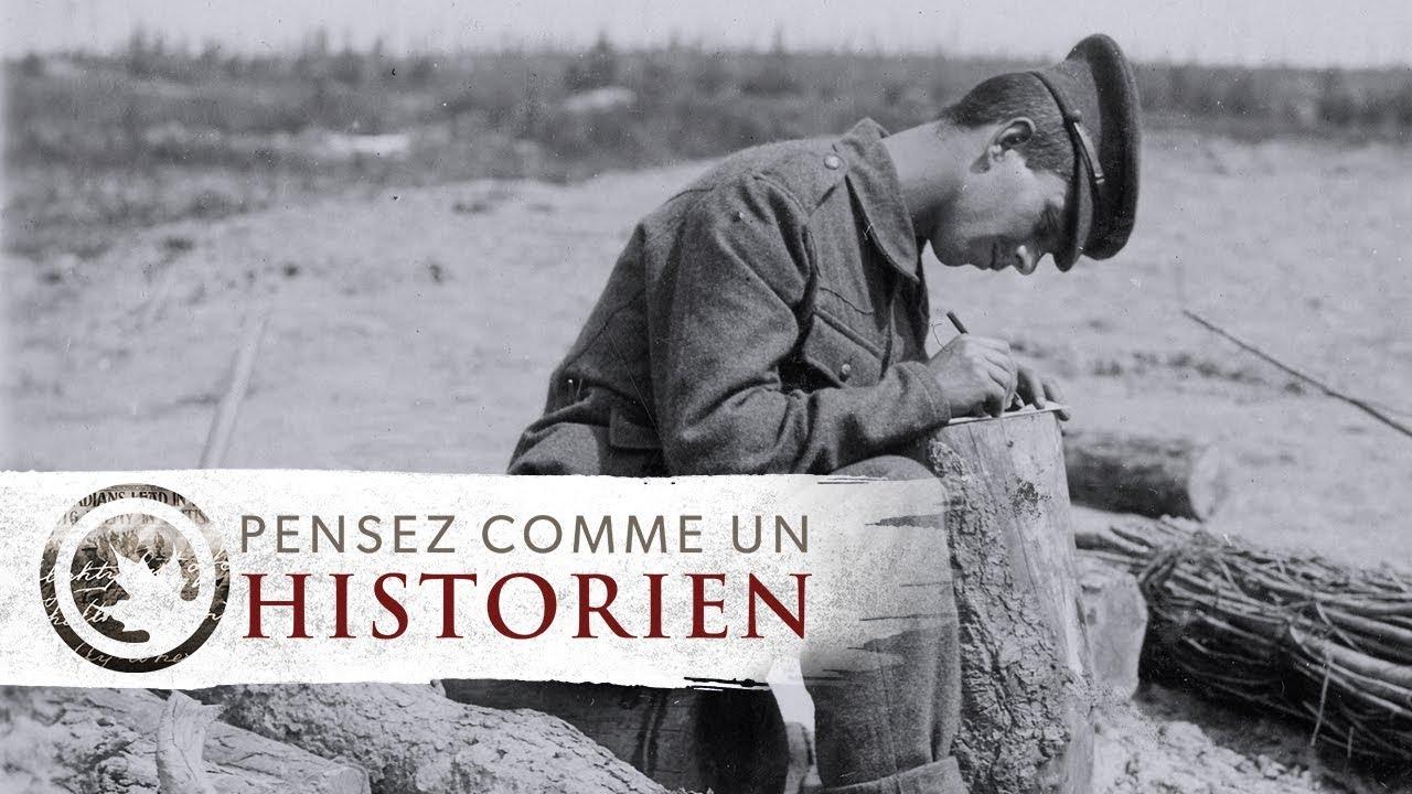 Pensez comme un historien : Vimy en lettres (Olivar Asselin)