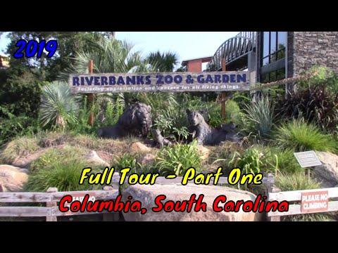 Riverbanks Zoo And Garden Full Tour - Columbia, SC - Part 1