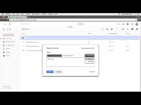 How To Share Folder In Google Drive