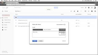 How to share a folder in Google Drive with other users so they can ...