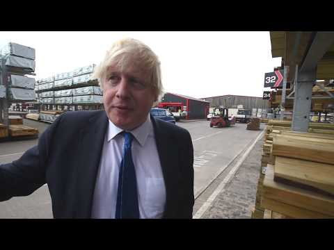 Boris visits Carvers in Wolverhampton