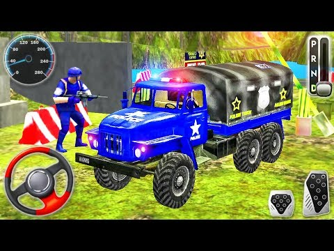 offroad-police-truck-drive-simulator-2020---cargo-transporter-driving---android-gameplay