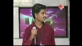 Singer rajuwith a heart touching song yaalo yaala uyyala