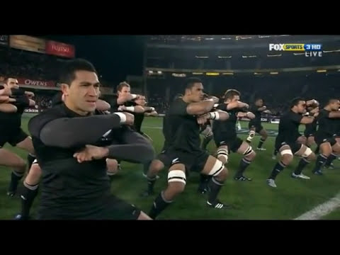 SPINE TINGLING!! NZ All Black Haka - Kapa O Pango