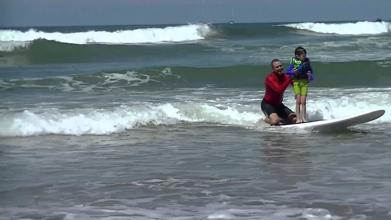b156e178d8 Surfing Lessons for Kids with Autism - Waves of Impact - YouTube