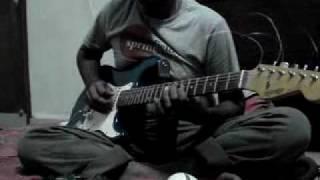 Dil Dil Pakistan(Guitar tafreeh cover)