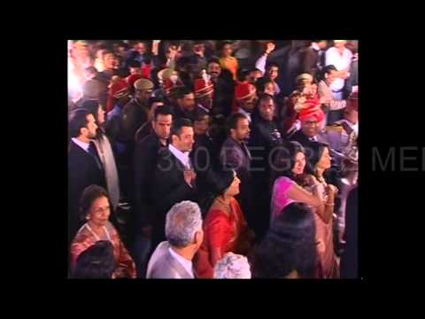 Salman Khan dancing in Barat with Hindu Jea Band, Jaipur