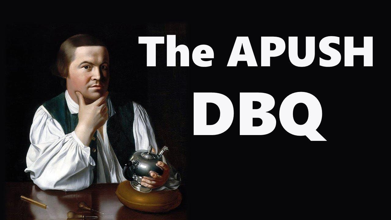 Apush dbq thesis help