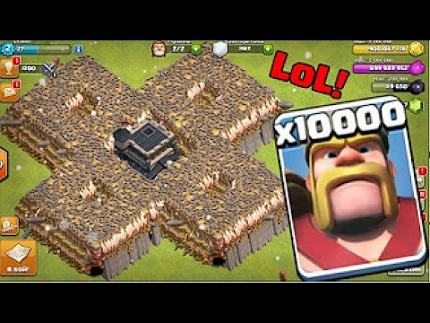 10000 KINGS VS 500 Buildings | OMG | Clash Of Clans