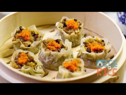 Instant Pot Sticky Rice Shumai (Meat or Vegan)