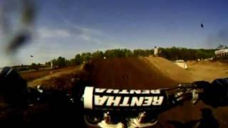 Ken Dwight Go Pro Helmet Camera Raceway Park 9/06/09