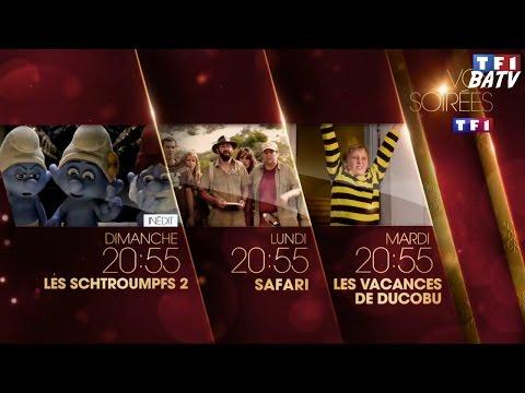 Les Schtroumpfs 2 + Safari + Les Vacances de Ducobu - TF1