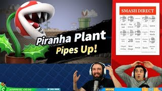 The NyanCave reacts to Piranha Plant reveal on Super Smash Bros. Ultimate