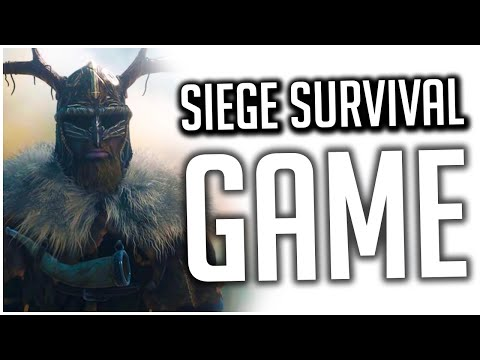 This Base Building Survival Game is PRETTY COOL! | Siege Survival Gloria Victis Preview |