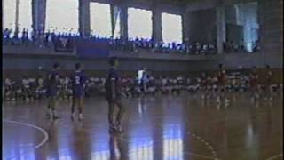 4/6ハンドボール決勝 横浜商工vs桐光学園1993年インターハイ神奈川予選