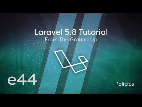 Laravel 5.8 Tutorial