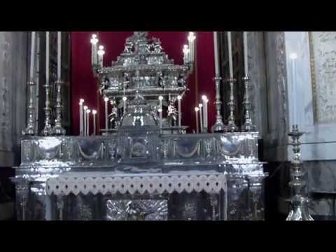 Palermo Cathedral, Silver Church Altar - LVBO Travel