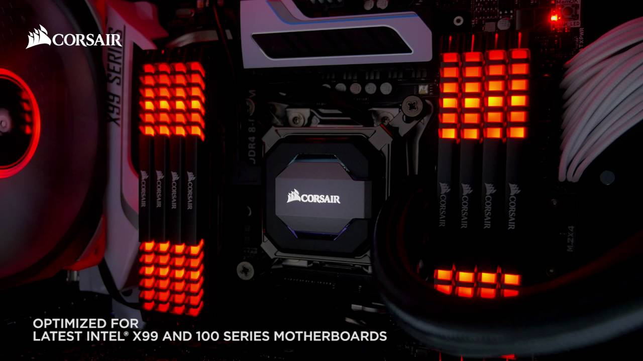 Vengeance LED DDR4 memory - Stunning LED lighting and superior  overclocking, all-in-one