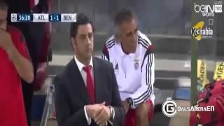 Resumen Atletico Madrid (1) - Benfica (2) Champions League 2015