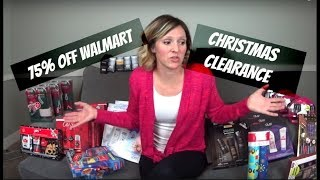 Walmart Christmas Clearance 75% Off   Time To Give Back