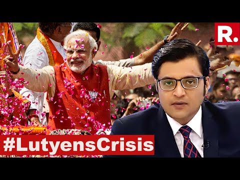 Time To Call Out Lutyens? | The Debate With Arnab Goswami
