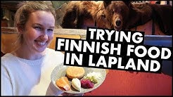 Trying Finnish Food In Lapland