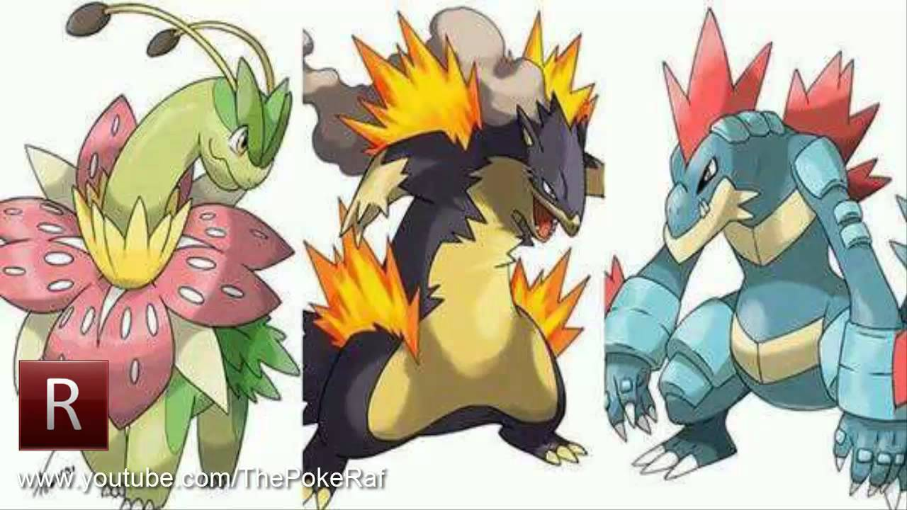 Pok mon x and y mega johto evolutions youtube - Pokemon mega evolution y ...