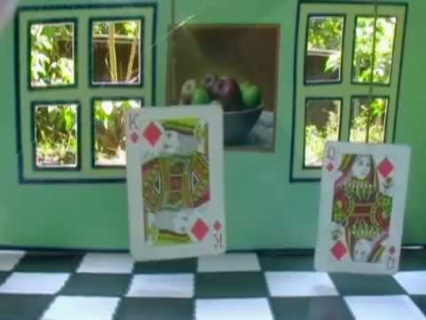 How To Make An Ames Room Optical Illusion Used In Lord Of The Rings