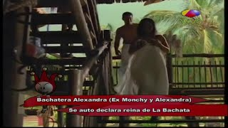 Bachatera Alexandra se auto declara reina de La Bachata