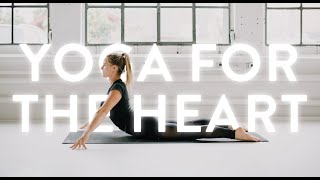 • YOGA FOR THE HEART • | Yoga with Nina