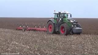 Ploughing | Fendt 1042 Vario & 8 Furrow Gregoire Besson | Szántás 2017.