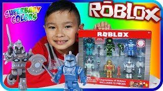 NEUE ROBLOX TOYS REVIEW + CODES, Kinder Spielzeug Bewertung - SuperBaby Farben