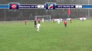 Malchower SV 90 - CFC Hertha 06  10-12-16  6:2